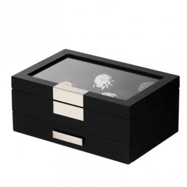 Szkatułka Rothenschild na 10 zegarków i biżuterię
